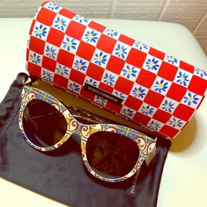 🔺NWT DOLCE & GABBANA 4311 Havana Sunglasses